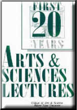 First 20 Years Arts & Sciences Lectures