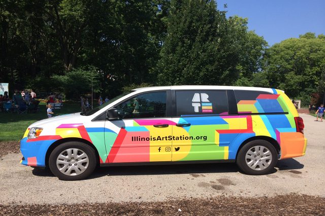 Illinois Art Station Van